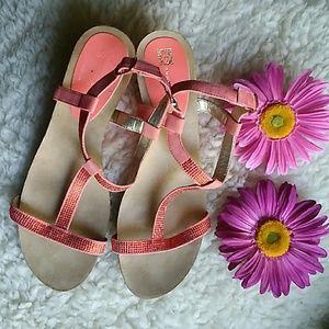 Ann Klein iflex Back Strap Sandals